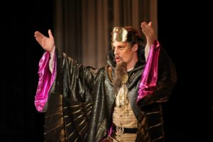 The Magic Flute/Madlenianum Opera role: Sarastro